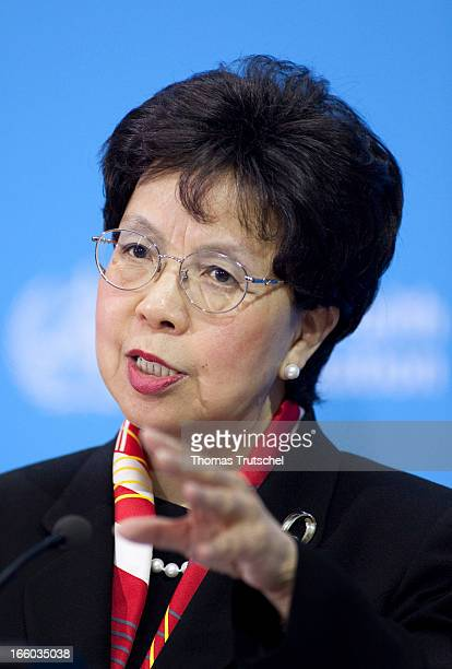 Margaret Chan DirectorGeneral of the World Health Organization