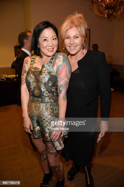 Margaret Cho and Deborra-Lee Furness attend the National Night Of Laughter And Song event hosted by David Lynch Foundation at the John F. Kennedy...