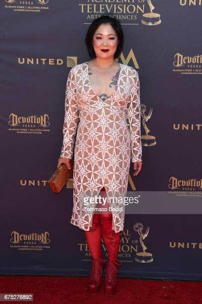 Margaret Cho attends the 44th Annual Daytime Emmy Awards at Pasadena Civic Auditorium on April 30 2017 in Pasadena California