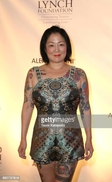 Margaret Cho attends the National Night Of Laughter And Song event hosted by David Lynch Foundation at the John F. Kennedy Center for the Performing...