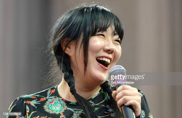 """Margaret Cho performs during the """"True Colors Festival"""" at the Greek Theatre on June 29, 2007 in Berkeley, California."""