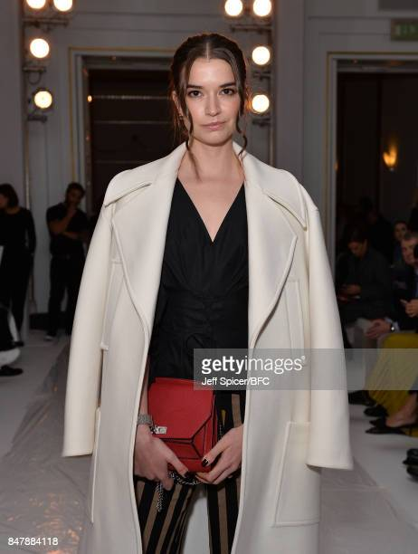 Margaret Clooney attends the Jasper Conran show during London Fashion Week September 2017 on September 16 2017 in London England