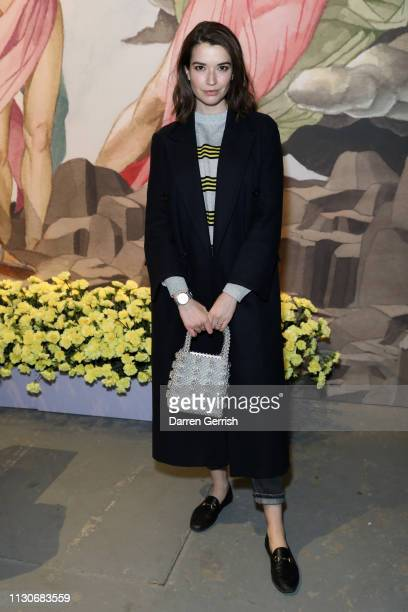 Margaret Clooney attends the Shrimps show during London Fashion Week February 2019 at Ambika P3 on February 19 2019 in London England
