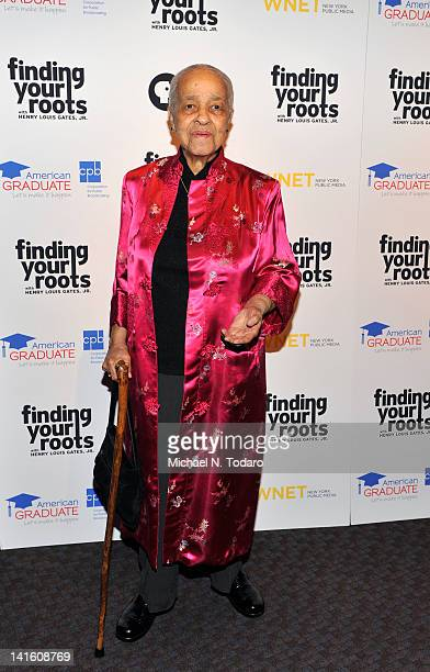 """Margaret Cooper attends the """"Finding Your Roots"""" New York premiere at Frederick P. Rose Hall, Jazz at Lincoln Center on March 19, 2012 in New York..."""