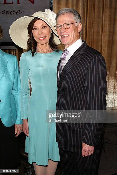 Margaret Cuomo and Howard Maier attend the 2013 TJ Martell Foundation Women Of Influence Awards Luncheon at Riverpark on May 7 2013 in New York City