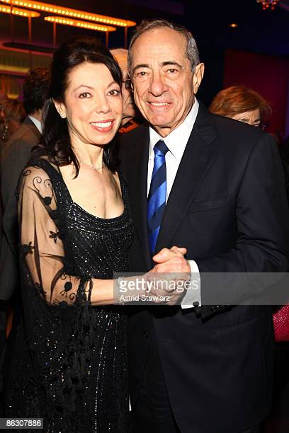 Margaret Cuomo Maier and Mario Cuomo attend the National Dance Institute's Gala Evening celebrating the Life and Legacy of John Lennon at the Nokia...