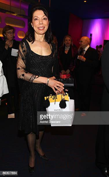 Margaret Cuomo Maier attends the National Dance Institute's Gala Evening celebrating the Life and Legacy of John Lennon at the Nokia Theatre on April...