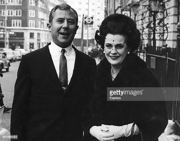 Margaret Duchess of Argyll in London with George Franklin Getty II the oldest son of American oil billionaire J Paul Getty 3rd January 1967