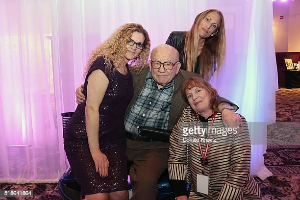 Margaret Fontana Ed Asner Liza Asnerand Diane Raver attends the 14th Annual Garden State Film Festival on AprilL 1 2016 in Atlantic City New Jersey