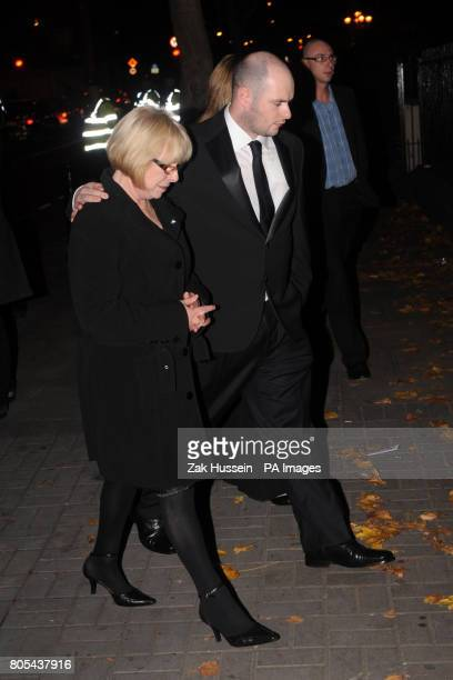 Margaret Gately the mother of Stephen Gately arrives at the Jennings Funeral Directors in the Seville Place area to view Stephen ahead of a private...