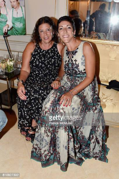 Margaret Grioli and Mary Winstanley attend Katrina and Don Peebles Host NY Mission Society Summer Cocktails at Private Residence on July 7 2017 in...