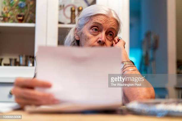 Margaret Guthrie is a member of a group of women who gather every week in each others homes to write postcards in the Mt Airy neighborhood of...