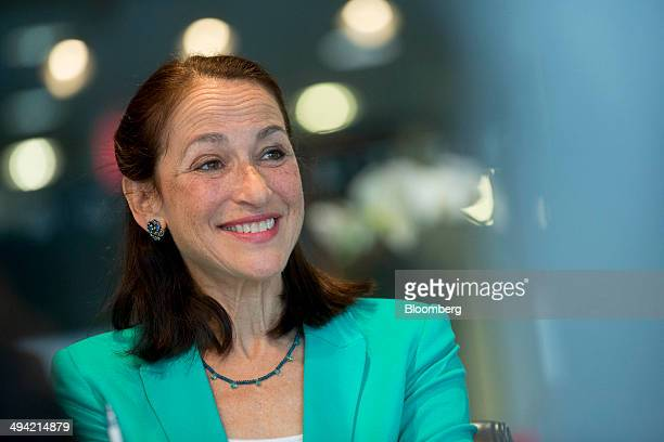 Margaret Hamburg commissioner of the Food and Drug Administration smiles during an interview in Washington DC US on Wednesday May 28 2014 A new...