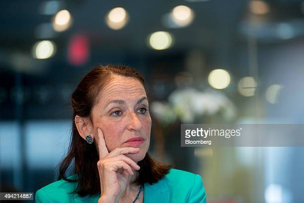 Margaret Hamburg commissioner of the Food and Drug Administration listens to a question during an interview in Washington DC US on Wednesday May 28...