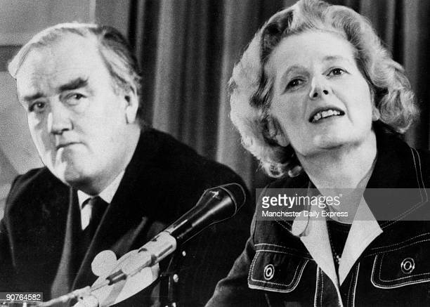 Margaret Hilda Thatcher, seen here with Whitelaw , was born in 1925. She studied chemistry at Oxford University, and worked as a research chemist...