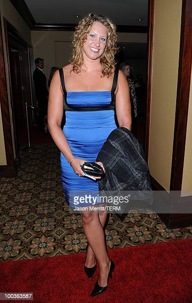 Margaret Hoelzer arrives at the 25th Anniversary Of CedarsSinai Sports Spectacular held at the Hyatt Regency Century Plaza Hotel on May 23 2010 in...