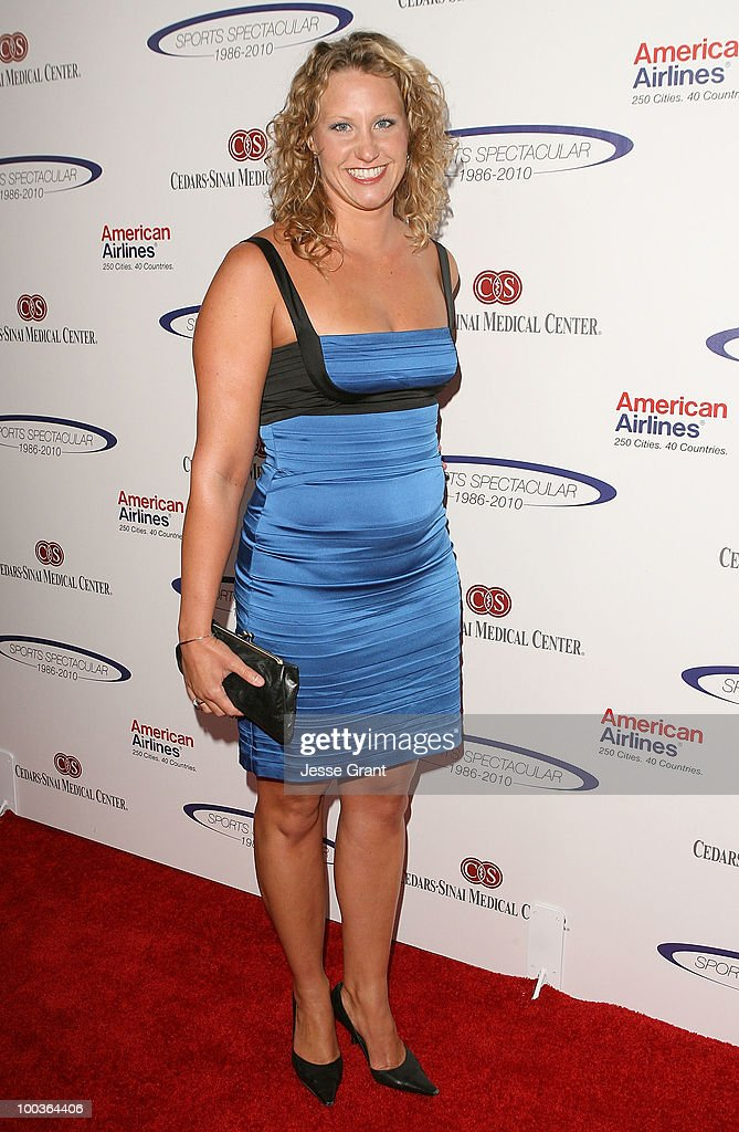 Margaret Hoelzer arrives at the 25th anniversary of Cedars-Sinai Sports Spectacular at the Hyatt Regency Century Plaza on May 23, 2010 in Century City, California.