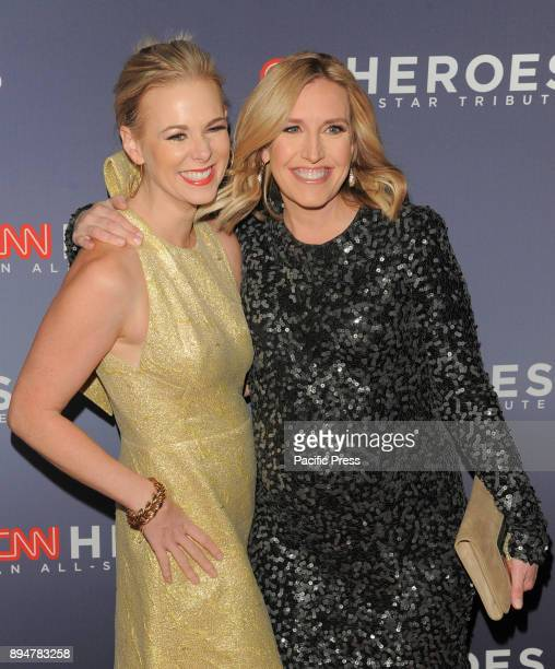 Margaret Hoover and Poppy Harlow attend 11th annual CNN Heroes AllStar Tribute at American Museum of Natural History