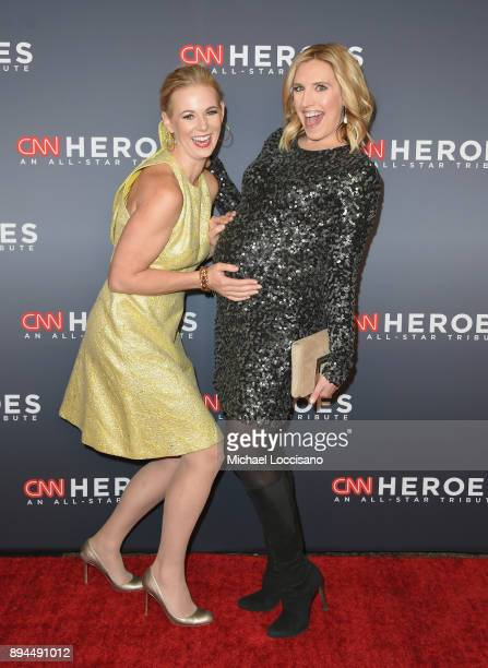 Margaret Hoover and Poppy Harlow attend CNN Heroes 2017 at the American Museum of Natural History on December 17 2017 in New York City 27437_017
