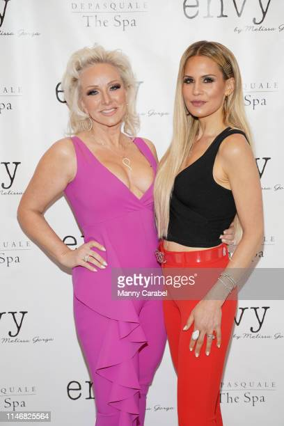 Margaret Josephs and Jackie Goldschneider attend the Envy By Melissa Gorga Fashion Show on May 03, 2019 in Hawthorne, New Jersey.