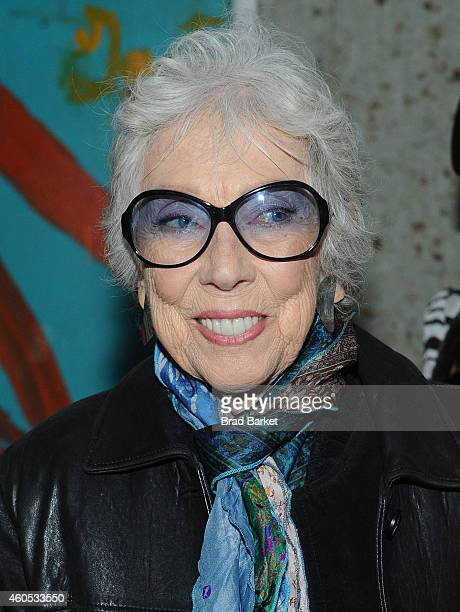 Margaret Keane attends the Big Eyes New York Premiere After Party at Kappo Masa on December 15 2014 in New York City