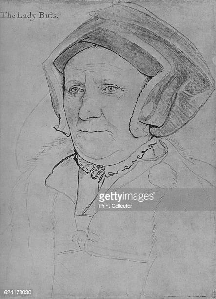 Margaret, Lady Butts', c1541-1543 . Lady Margaret Butts , , wife of Sir William Butts, and daughter of John Bacon. She served as a lady-in-waiting to...