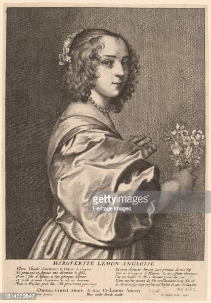 Margaret Lemon, 1646. Artist Wenceslaus Hollar.