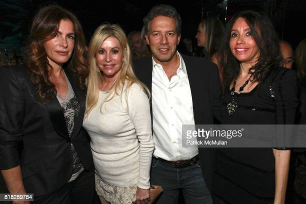 Margaret Luce Gail Evertz and Lieba Nesis attend SKINNY JEANS Launch of STELLAR GREEN JEANS at Juliet Supper Club on February 24 2010 in New York City