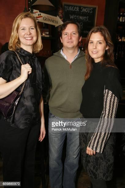 Margaret Meacham Klemm Chris Dunagan and Melissa Skoog attend PEN Edmont Holiday Benefit at The Half King on December 13 2009 in New York City