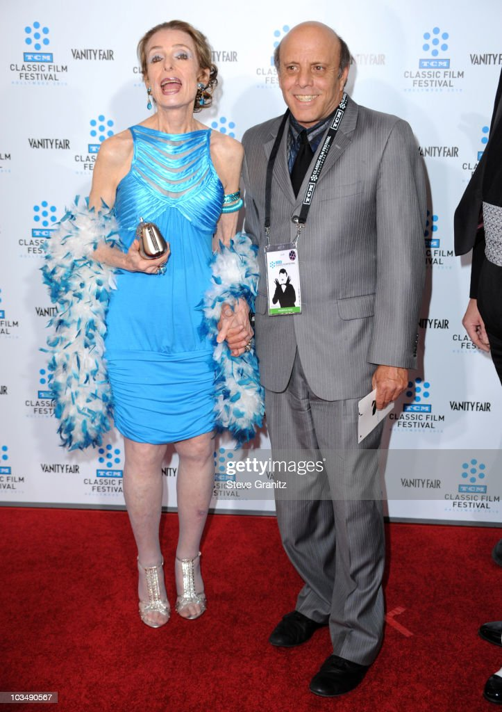 Margaret O' Brien and Joey Luft attends the at Grauman's Chinese Theatre on April 22, 2010 in Hollywood, California.
