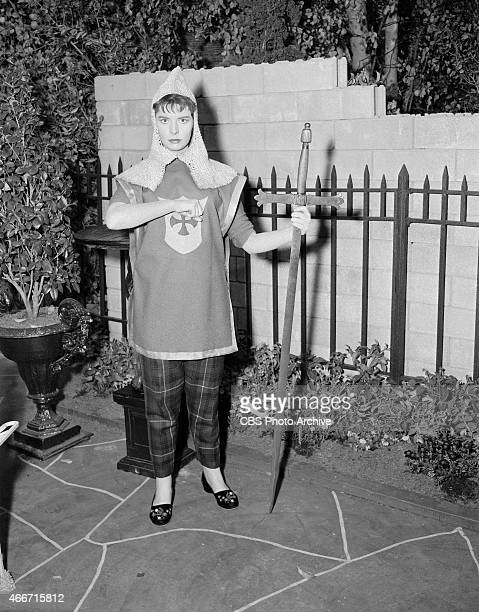 "Margaret O'Brien as Maggie Bradley in the ""Comedy Spot"" movie, ""Maggie."" Image dated May 3, 1962."