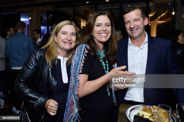 Margaret O'Brien Veronica Gentili and Darren Throop attend MOLLY'S GAME premiere party hosted by GREY GOOSE Vodka at The Citizen on September 8 2017...