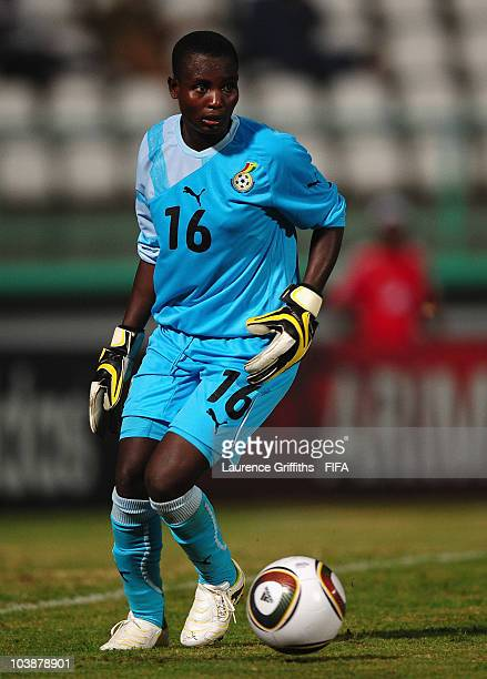 Margaret Otoo of Ghana in action during the FIFA U17 Women's World Cup match between Canada and Ghana at the Larry Gomes Stadium on September 6 2010...