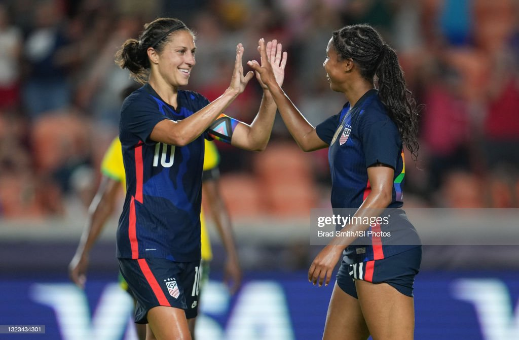 Jamaica v United States - 2021 WNT Summer Series : News Photo