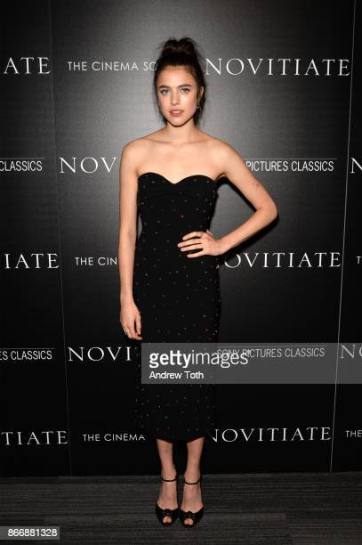 Margaret Qualley attends a screening of Sony Pictures Classics' 'Novitiate' hosted by The Cinema Society at The Landmark at 57 West on October 26...