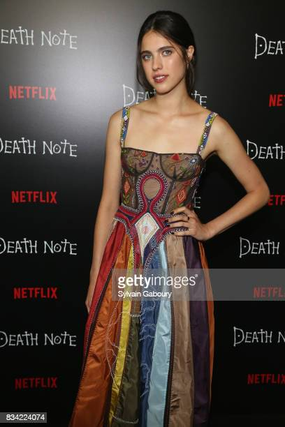 Margaret Qualley attends 'Death Note' New York Premiere at AMC Loews Lincoln Square 13 theater on August 17 2017 in New York City