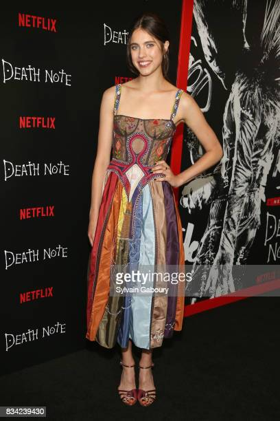 Margaret Qualley attends Death Note New York Premiere at AMC Loews Lincoln Square 13 theater on August 17 2017 in New York City