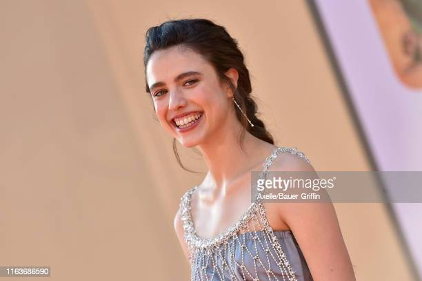 Margaret Qualley attends Sony Pictures' Once Upon a Time in Hollywood Los Angeles Premiere on July 22 2019 in Hollywood California