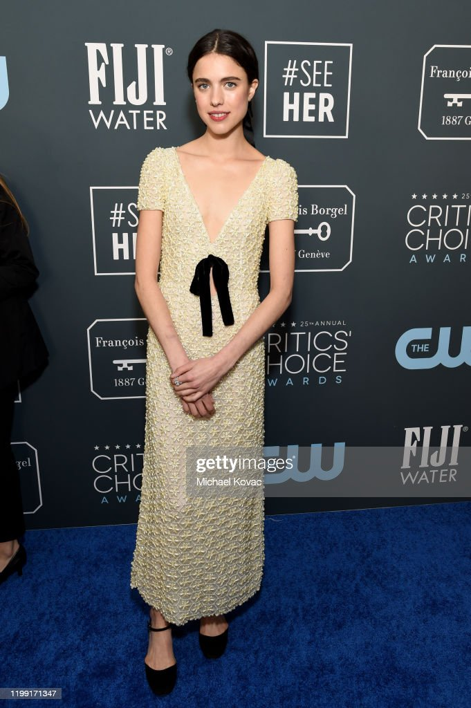 Champagne Collet at The 25th Annual Critics' Choice Awards : News Photo