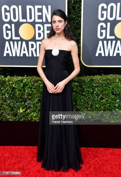 Margaret Qualley attends the 77th Annual Golden Globe Awards at The Beverly Hilton Hotel on January 05, 2020 in Beverly Hills, California.