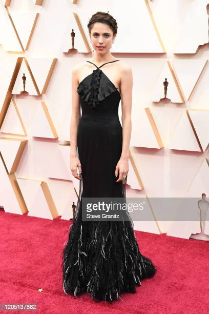 Margaret Qualley attends the 92nd Annual Academy Awards at Hollywood and Highland on February 09, 2020 in Hollywood, California.