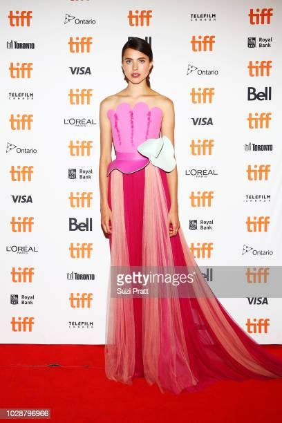 Margaret Qualley attends the 'Donnybrook' premiere 2018 Toronto International Film Festival at Winter Garden Theatre on September 7 2018 in Toronto...