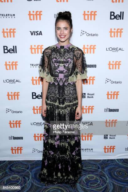 Margaret Qualley attends the 'Novitiate' premiere during the 2017 Toronto International Film Festival at Scotiabank Theatre on September 10 2017 in...