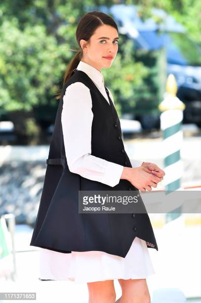 Margaret Qualley is seen arriving at the 76th Venice Film Festival on August 31 2019 in Venice Italy