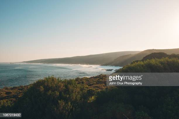 margaret river sunrise - coastal feature stock pictures, royalty-free photos & images