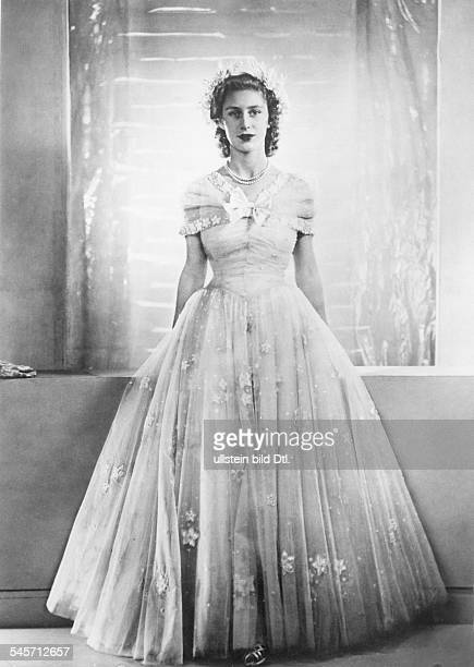 Margaret Rose, Princess, GB*21.08..2002+Countess of SnowdonSister of Queen Elizabeth II.Portrait- 1948<english> f