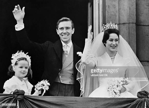 Margaret Rose, Prinzessin *21.08..2002+Graefin von Snowdon, GBSchwester von Queen Elizabeth II.- Hochzeit mit Anthony Armstrong-Jones, dem spaeteren...