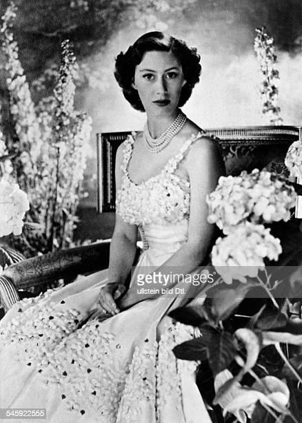 Margaret Rose Prinzessin *Graefin von Snowdon GBSchwester von Queen Elizabeth II Portrait welches aus Anlass ihres21 Geburtstages aufgenommen wurde...