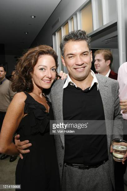 Margaret Russell and Carlos Mota during The Launch of Carlos Mota for Villency Atelier Hosted by Eric Villency and Margaret Russell - November 15,...