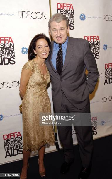 Margaret Russell and Jack Kliger during The 8th Annual Elle Decor Dining by Design Benefiting the Design Industries Foundation Fighting AIDS at...